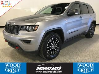 Used 2018 Jeep Grand Cherokee Trailhawk AIR SUSPENSION, LEATHER, SUNROOF for sale in Calgary, AB