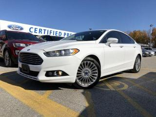 Used 2015 Ford Fusion Titanium NAVIGATION|LEATHER|BLUETOOTH|REMOTE START for sale in Barrie, ON