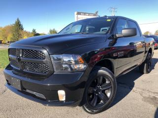 """Used 2017 RAM 1500 ST """" Blackout Rims, Painted to match bumper and Fog Lights! Blueto for sale in Kemptville, ON"""