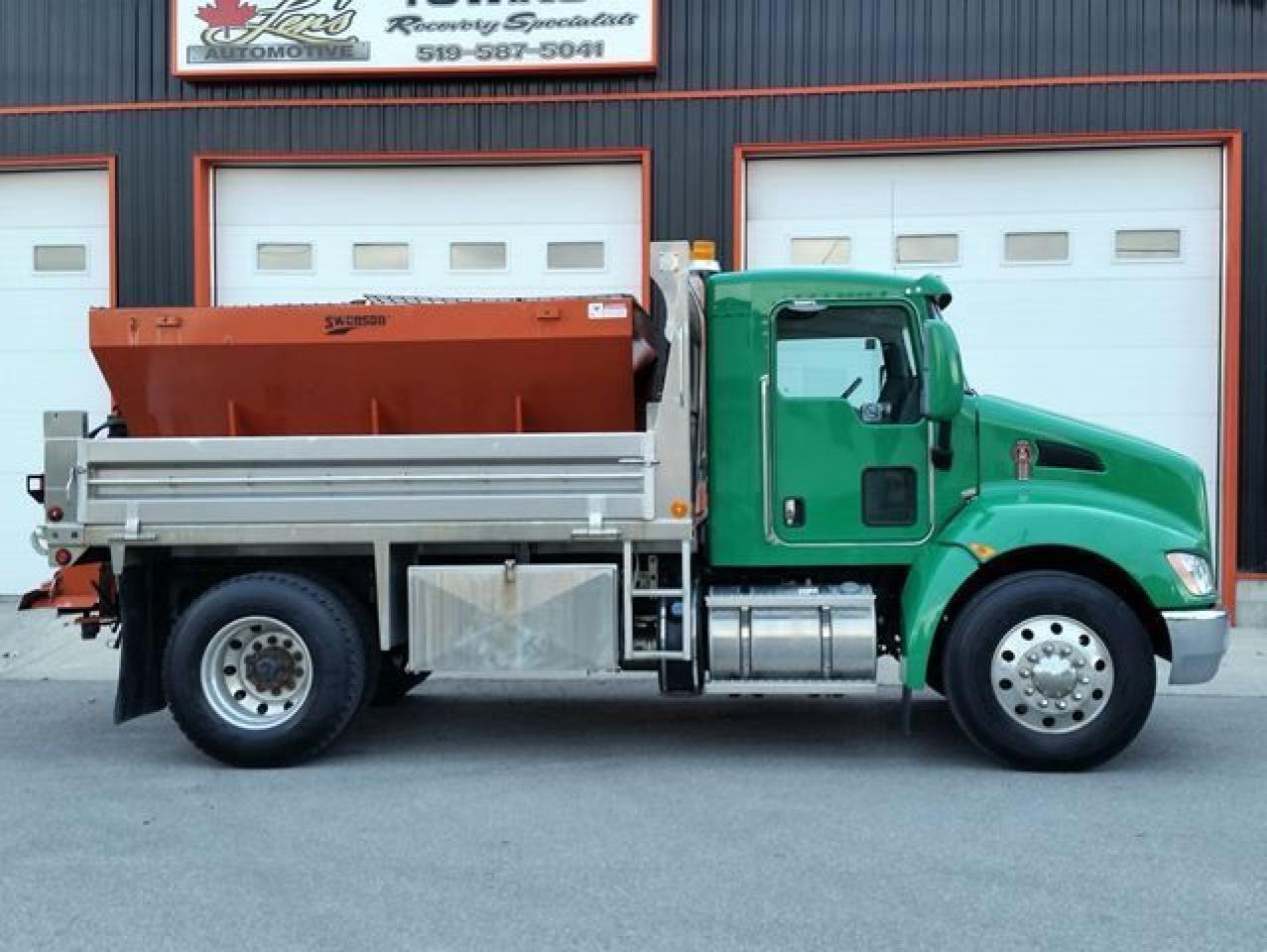 2014 Kenworth T300 Series  T370 Packer Diesel Dump Truck