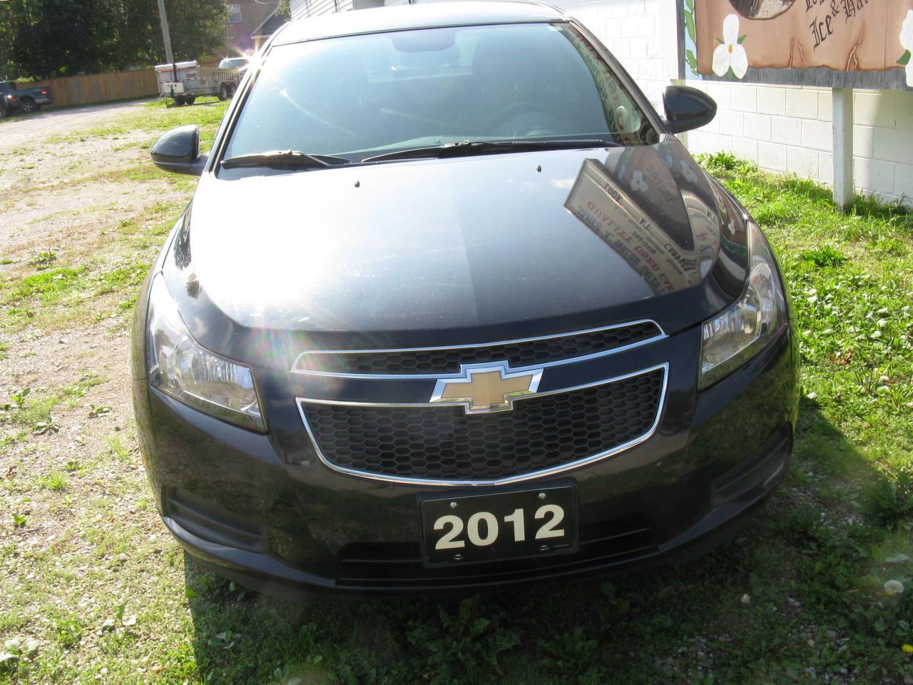 Photo of Black 2012 Chevrolet Cruze