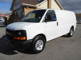 Used 2013 Chevrolet Express 2500 2500HD Cargo 4.8L Divider Shelving Certified 208Km for sale in Etobicoke, ON
