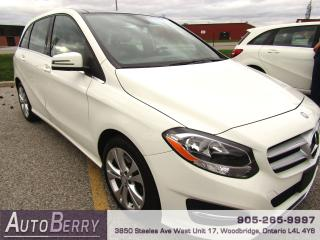 Used 2015 Mercedes-Benz B-Class B250 - 4MATIC - Pano - Navi - B/U Cam for sale in Woodbridge, ON