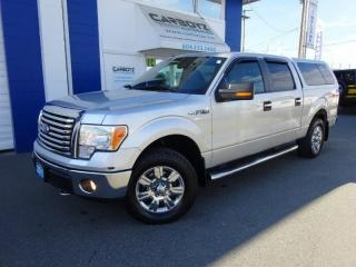 Used 2011 Ford F-150 XLT XTR Crew 4x4, 5.0L V8, Sunroof, Canopy for sale in Langley, BC