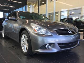 Used 2013 Infiniti G37 Sedan CPO rates as low as 0.9%, 6 year/160,000km warranty for sale in Edmonton, AB