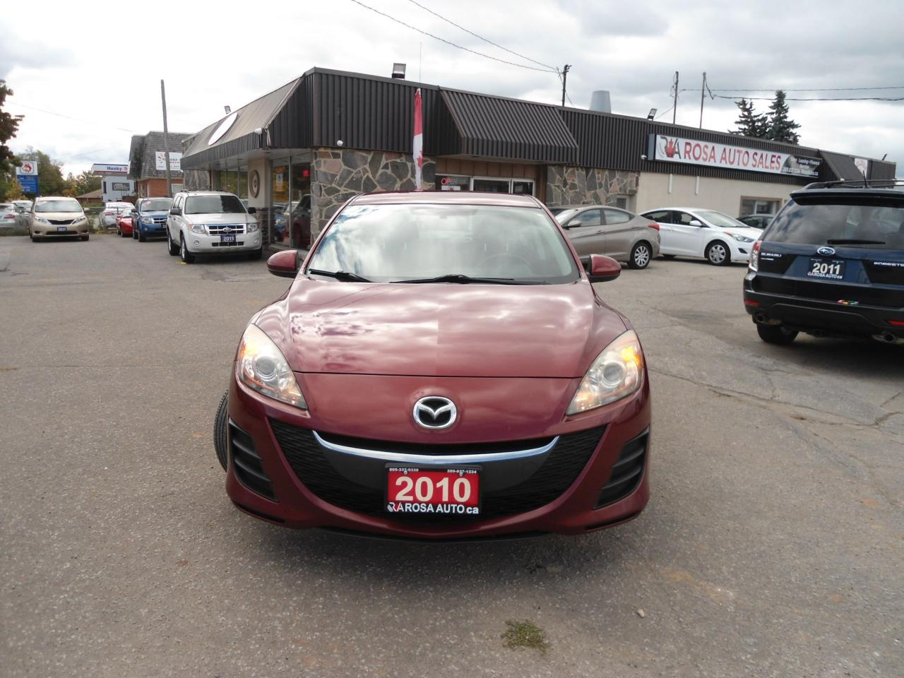 2010 Mazda MAZDA3 AUTO, AUX,CD,AC,  4 CYLINDER ,5 PASSENGERS, NO RUS