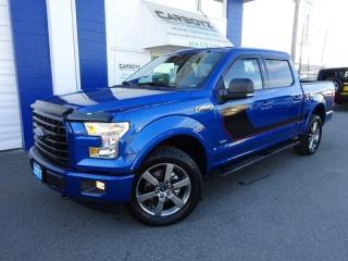 Used 2017 Ford F-150 SPORT 4x4 Crew, 3.5L Eco Boost, Nav, Leather for sale in Langley, BC