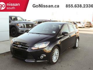 Used 2014 Ford Focus TITANIUM, LEATHER, NAVIGATION, SUNROOF, HEATED SEATS, BLUETOOTH, BACKUP CAMERA for sale in Edmonton, AB