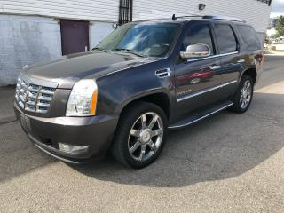 Used 2010 Cadillac Escalade Nav/Backup/tv for sale in North York, ON