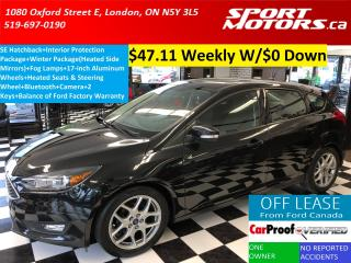 Used 2015 Ford Focus SE Hatchback+Camera+Bluetooth+Heated Steering Whee for sale in London, ON