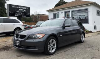 Used 2008 BMW 328xi WAGON TOURING 328xit LEATHER PANO ROOF NO ACCIDENT for sale in Mississauga, ON
