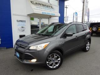 Used 2014 Ford Escape SE 4WD, Nav, Leather, Sunroof, 2.0L Eco Boost!! for sale in Langley, BC