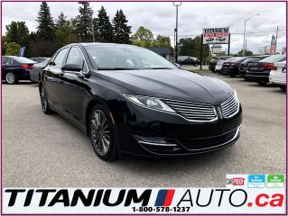 Used 2015 Lincoln MKZ AWD-Pano Roof-Camera-GPS-Blind Spot-Vented Seats- for sale in London, ON