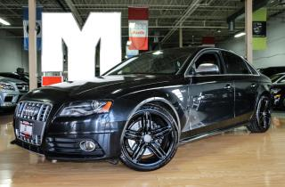 Used 2011 Audi S4 Premium - BLINDSPOT|NAVI|BACKUPCAM|B&O|SPORTDIFF for sale in North York, ON