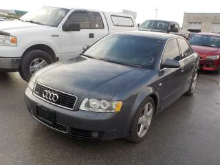 Used 2002 Audi A4 3.0 Quattro for sale in Innisfil, ON