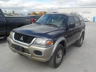 Used 2003 Mitsubishi Montero Sport XLS for sale in Innisfil, ON