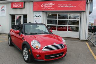 Used 2014 MINI Cooper CONVERTIBLE 2 portes for sale in Shawinigan, QC