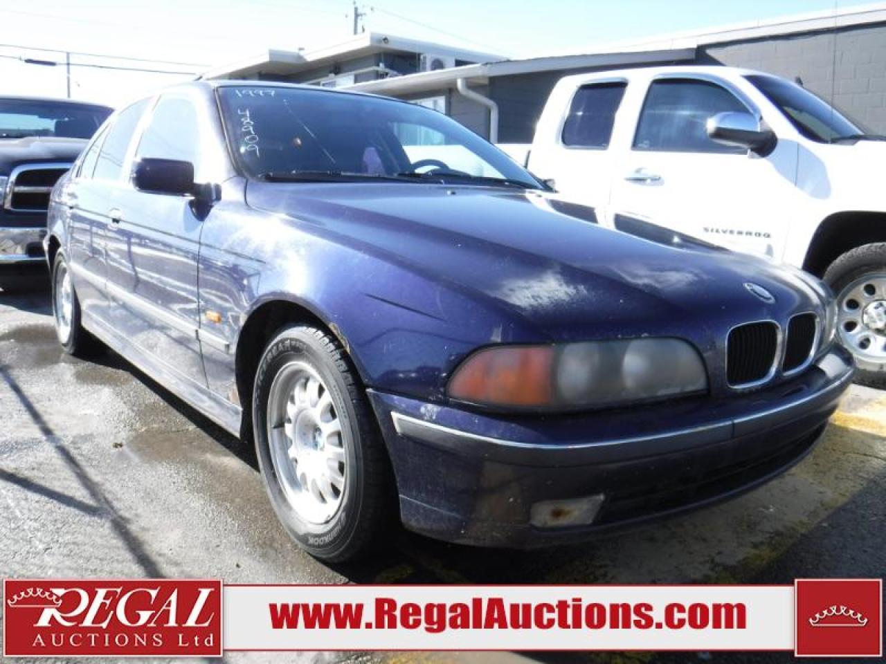 Photo of Blue 1997 BMW 528i/A