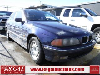Used 1997 BMW 528i/A 4D SEDAN for sale in Calgary, AB
