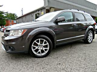Used 2014 Dodge Journey R/T AWD -- 7 PASSAGERS - DVD - CUIR -- for sale in Repentigny, QC