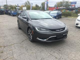Used 2016 Chrysler 200 C | NAV | LEATHER | PANO ROOF | CAM for sale in London, ON