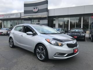 Used 2016 Kia Forte5 EX Leather Sunroof Only 36, 000Km for sale in Langley, BC