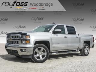 Used 2015 Chevrolet Silverado 1500 LT 1LT BACKUP CAM, ALLOYS for sale in Woodbridge, ON