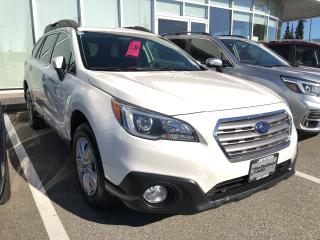 Used 2015 Subaru Outback 2.5i (CVT) for sale in North Vancouver, BC