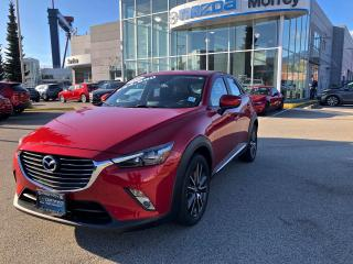Used 2016 Mazda CX-3 GT AWD at for sale in North Vancouver, BC
