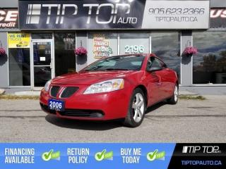 Used 2006 Pontiac G6 GTP ** 3.9L V6, Manual, Leather, No Accidents ** for sale in Bowmanville, ON