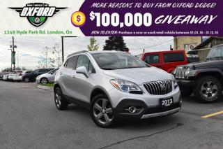 Used 2013 Buick Encore Convenience - black leather, bluetooth, pwr seat for sale in London, ON