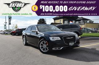 Used 2016 Chrysler 300C Platinum - AWD, GPS, sunroof, heated seats, blinds for sale in London, ON