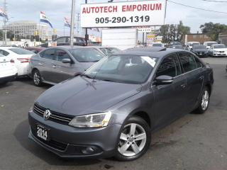 Used 2014 Volkswagen Jetta TDI Auto Btooth/Alloys/Sunroof &GPS* for sale in Mississauga, ON