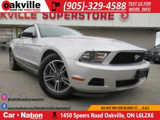 Used 2012 Ford Mustang V6 Premium | CONVERTIBLE | LEATHER | BLUETOOTH | for sale in Oakville, ON