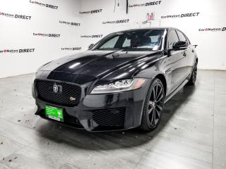 Used 2016 Jaguar XF S| AWD| SUNROOF| NAVI| RED LEATHER| for sale in Burlington, ON