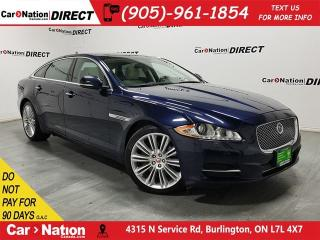 Used 2015 Jaguar XJ L 3.0L Portfolio| AWD| DUAL SUNROOF| NAVI| for sale in Burlington, ON