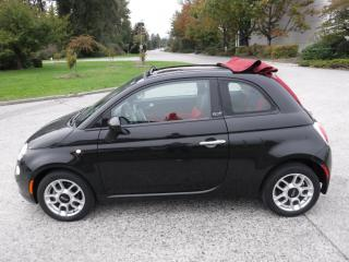 Used 2012 Fiat 500 C Pop CONVERTIBLE 2-DR for sale in Burnaby, BC