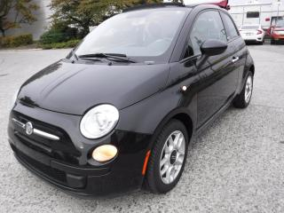 Used 2012 Fiat 500 C Pop Convertible for sale in Burnaby, BC