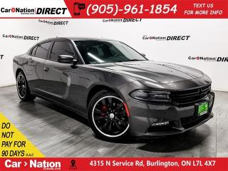 Used 2016 Dodge Charger SXT  SUNROOF  NAVI  TOUCH SCREEN  for sale in Burlington, ON