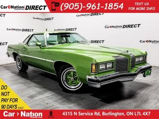 Used 1976 Pontiac Grand Prix | LEATHER| ONE PRICE INTEGRITY| for sale in Burlington, ON