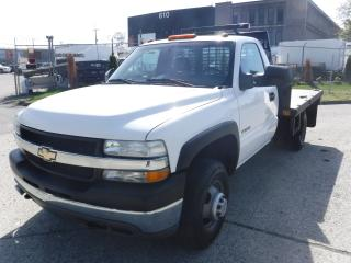Used 2002 Chevrolet Silverado 3500 12 Foot Tilting Flat Deck Regular Cab 2WD for sale in Burnaby, BC