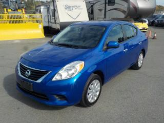 Used 2012 Nissan Versa 1.6 SV SEDAN for sale in Burnaby, BC