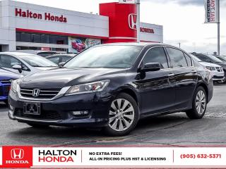 Used 2015 Honda Accord EXL|SERVICE HISTORY ON FILE|ACCIDENT FREE for sale in Burlington, ON