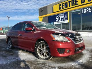 Used 2013 Nissan Sentra 4dr sdn SR/SV for sale in Lévis, QC