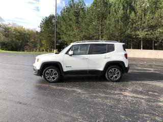Used 2015 Jeep Renegade Limited 4x4 for sale in Cayuga, ON