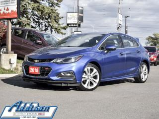 Used 2018 Chevrolet Cruze Premier - Leather Seats for sale in Mississauga, ON