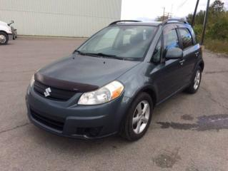 Used 2009 Suzuki SX4 Bicorps traction intégrale JX manuelle 5 for sale in Quebec, QC