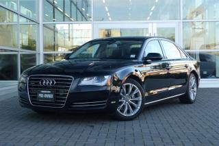 Used 2014 Audi A8 LWB 3.0 8sp Tiptronic (Sold Orders Only) *Loaded* for sale in Vancouver, BC