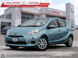 Used 2014 Toyota Prius c eCVT for sale in Orangeville, ON