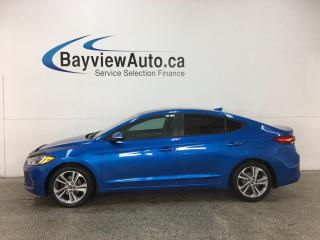 Used 2017 Hyundai Elantra GLS - ALLOYS! SUNROOF! HTD STS! REV CAM! RCTA! ANDROID AUTO! HTD WHEEL! CRUISE! for sale in Belleville, ON